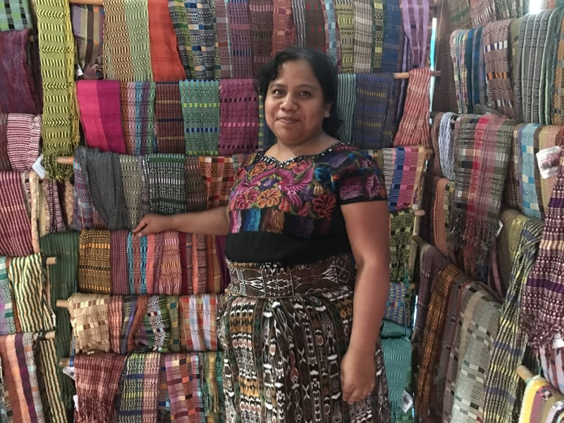 Lokal Adventures Immersive Guatemalan Culture and Nature Adventure Antigua to Peten Guatemala They make gorgeous textiles by hand!