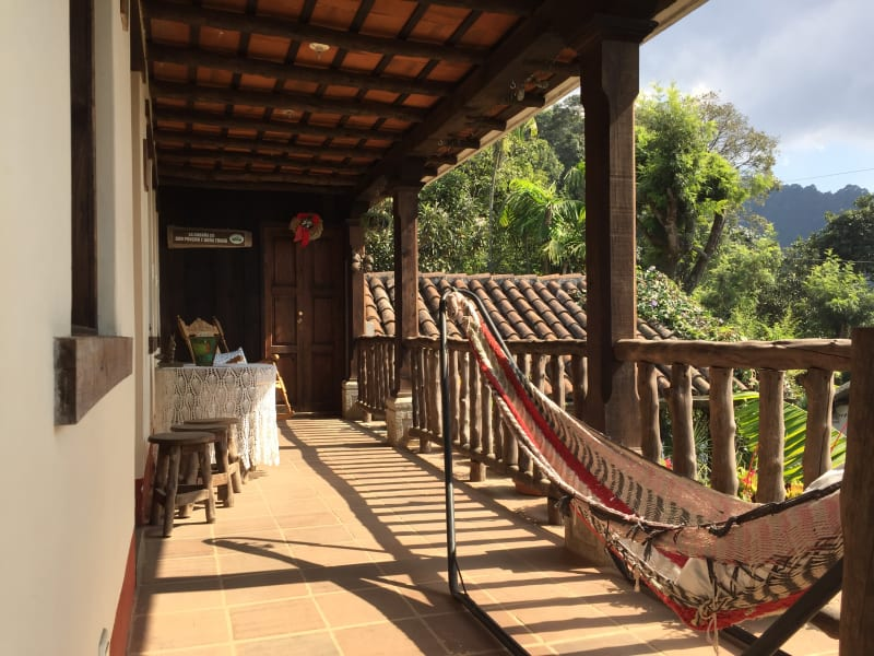 Lokal Adventures Immersive Guatemalan Culture and Nature Adventure Antigua to Peten Guatemala Relax in a hammock at Casa Xicaya, your home for the first days of the trip