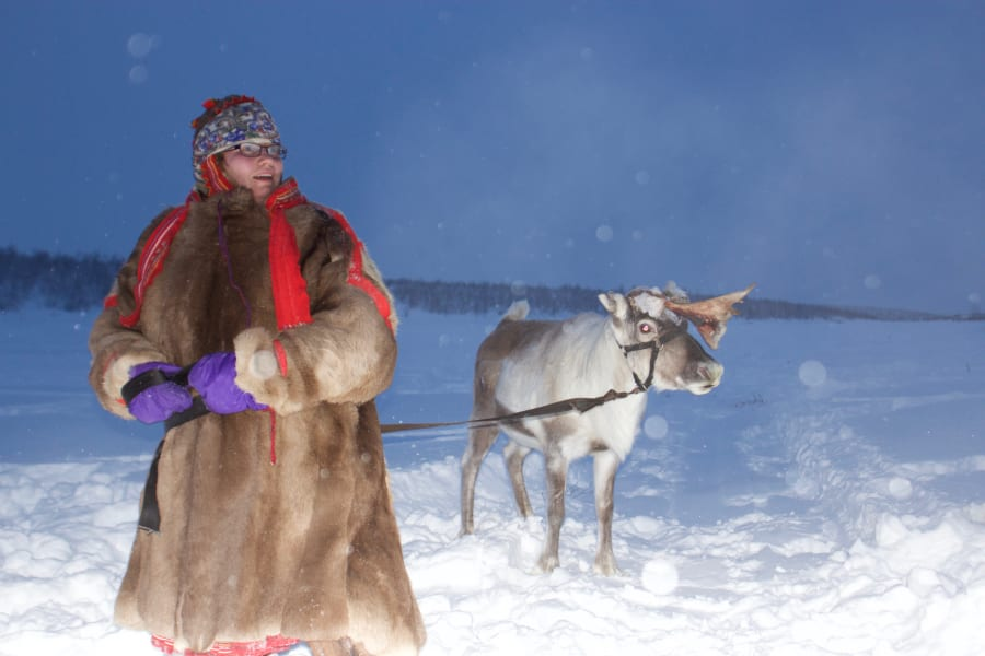 Visit Natives Explore the Arctic with Sami Reindeer Herders Kautokeino Norway undefined