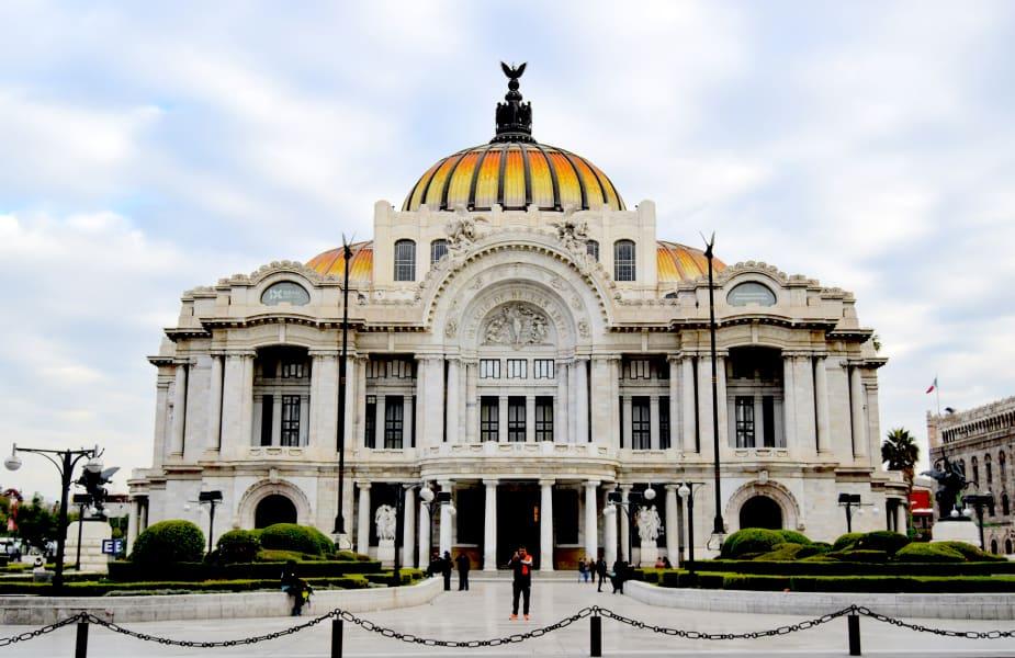 Totonal Viajes Mexico City to Oaxaca Coast: Culture, Biodiversity, and Art of Mexico Mexico City Mexico Palacio Bellas Artes in Mexico City