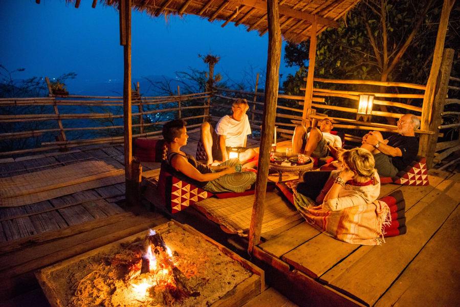 Lisu Lodge Lisu Lodge and Khum Lanna Trekking Chiang Mai Thailand Lahu Outpost