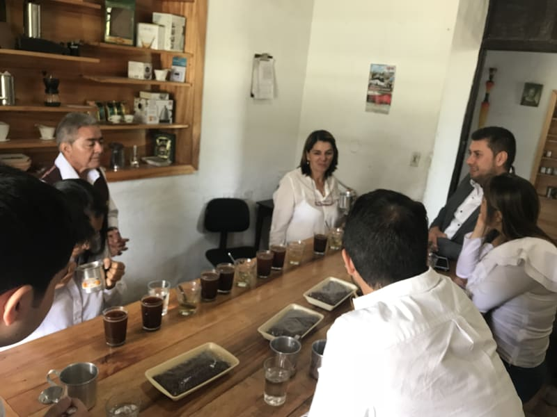 ZAIA Travel Explore Colombian Coffee and Nature Bogota Colombia Coffee tasting at Hacienda El Roble