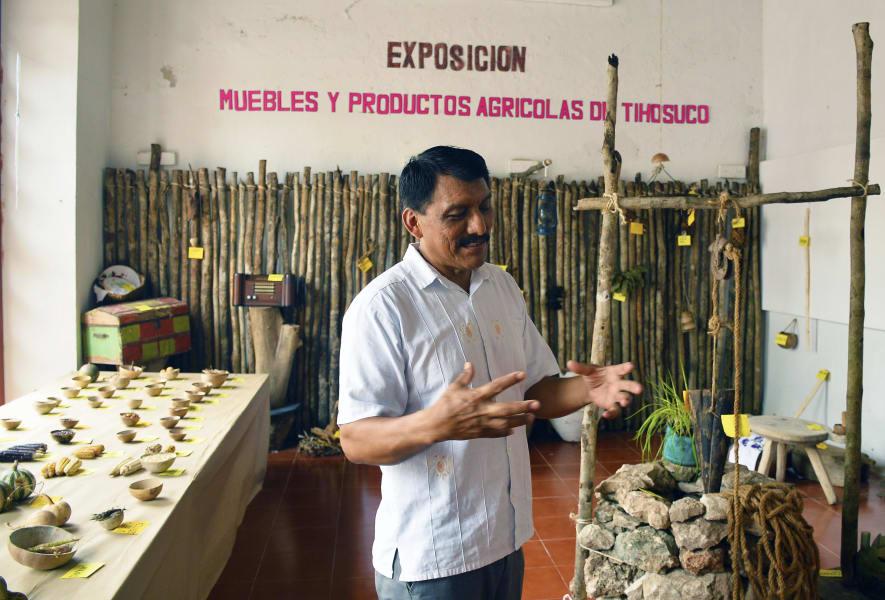 Sian Ka'an Community Tours Ximbaal Mayan Circuit Tulum Mexico Museo Tihosuco
