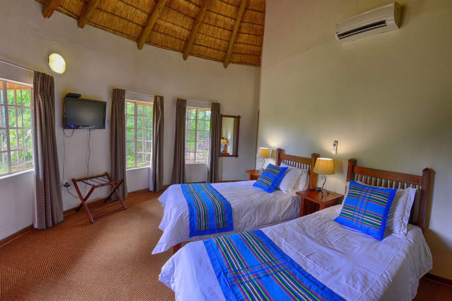 Transfrontier Parks Destinations Limpopo Wildlife and Cultural Adventure Phalaborwa South Africa Inside your chalet at Awelani