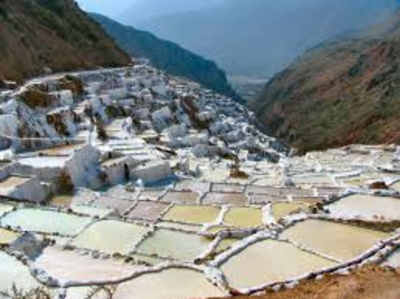 CBC Tupay Explore the Inca Circles of Moray and the Salt Flats of Maras Cusco Peru undefined