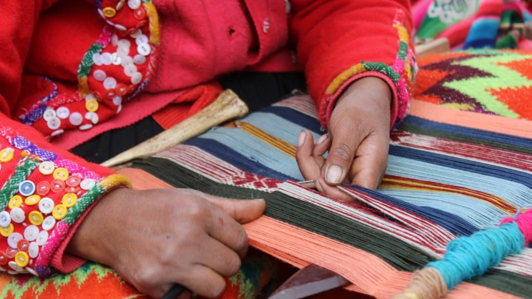 Awamaki Immersive Andean Weaving Excursion Ollantaytambo Peru null