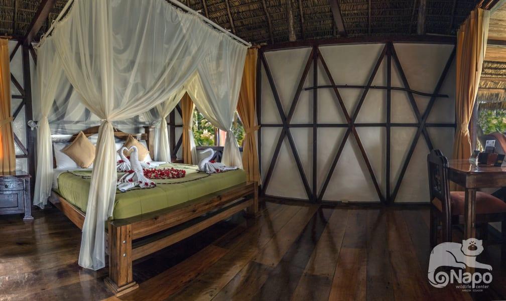 Napo Wildlife Center Ecolodge Yasuni Kichwa Rainforest Excursion Orrelana Province Ecuador One of the stunning rooms