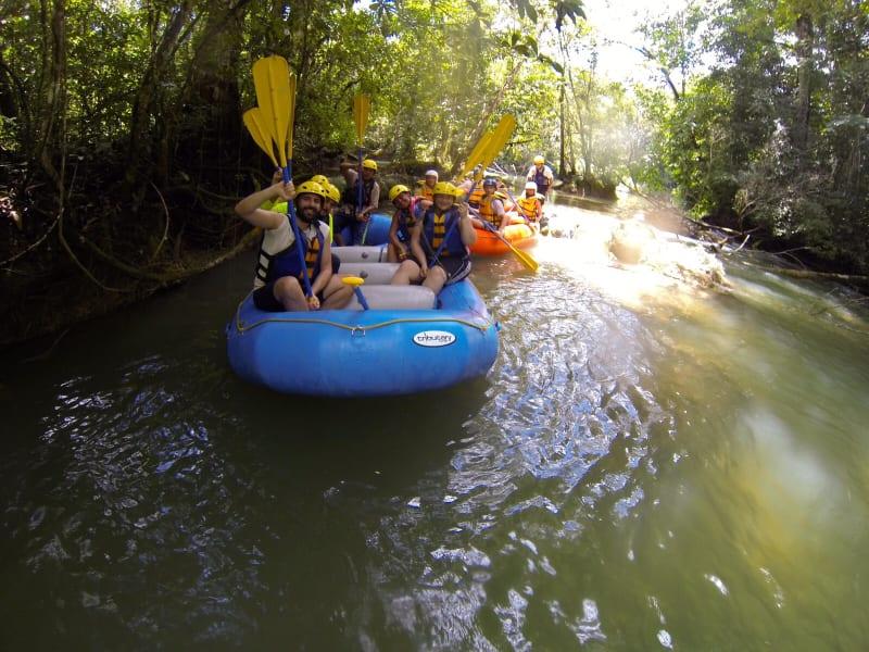 EcoExperiencias Rafting in the Lacanja River Chiapas Mexico undefined