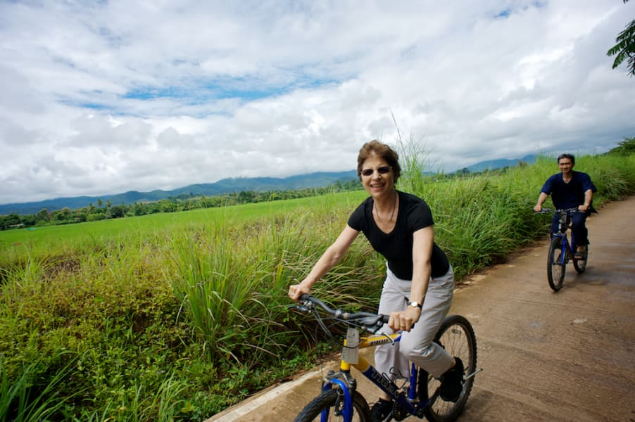 Lisu Lodge Lisu Lodge and Khum Lanna Trekking Chiang Mai Thailand Cycling Tour