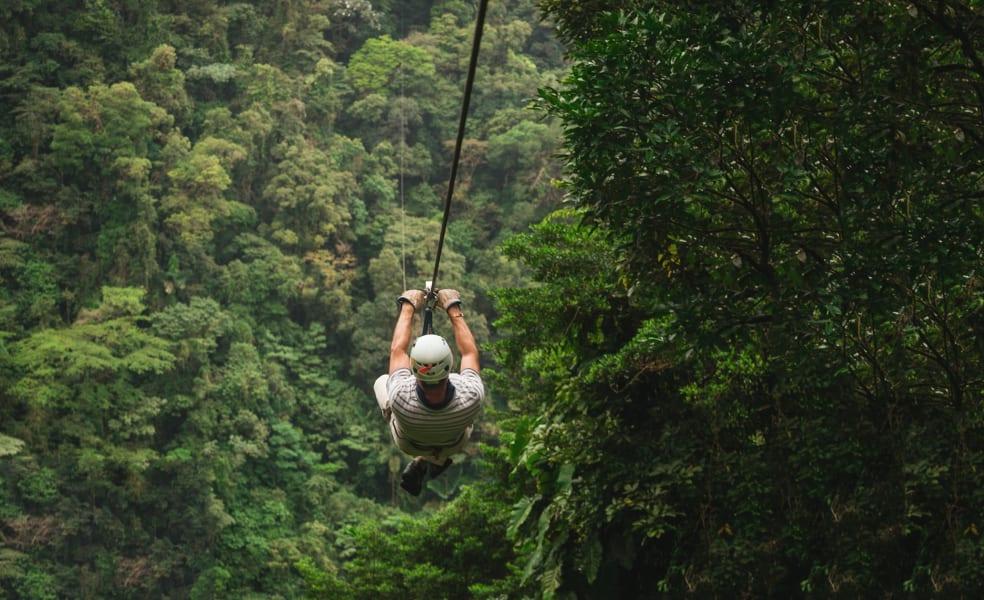 Sky Adventures Sky Trek Ultimate Zip Lining La Fortuna Costa Rica