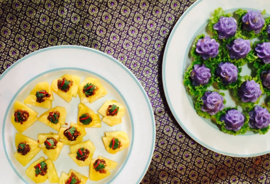 Local Alike Day as a Royal Chef Bangkok Thailand Royal Thai cuisine