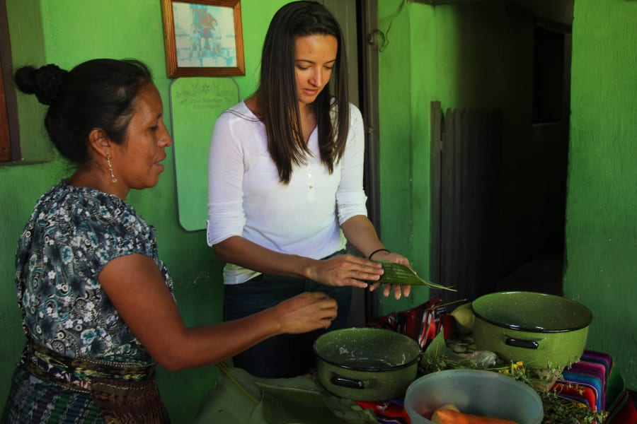 Etnica Local Cooking Class in Lake Atitlan Community San Juan la Laguna Guatemala undefined