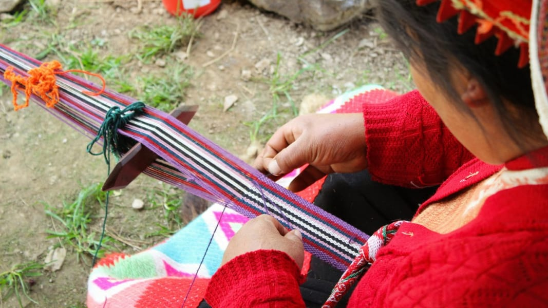 Awamaki Immersive Andean Weaving Excursion Ollantaytambo Peru