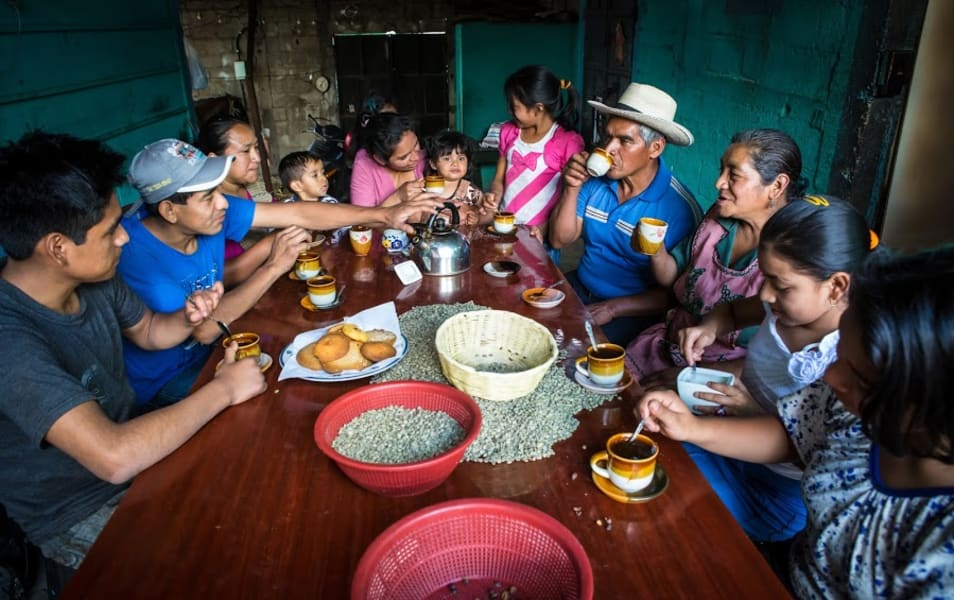 Lokal Adventures Immersive Guatemalan Culture and Nature Adventure Antigua to Peten Guatemala Have a traditional meal with your new friends
