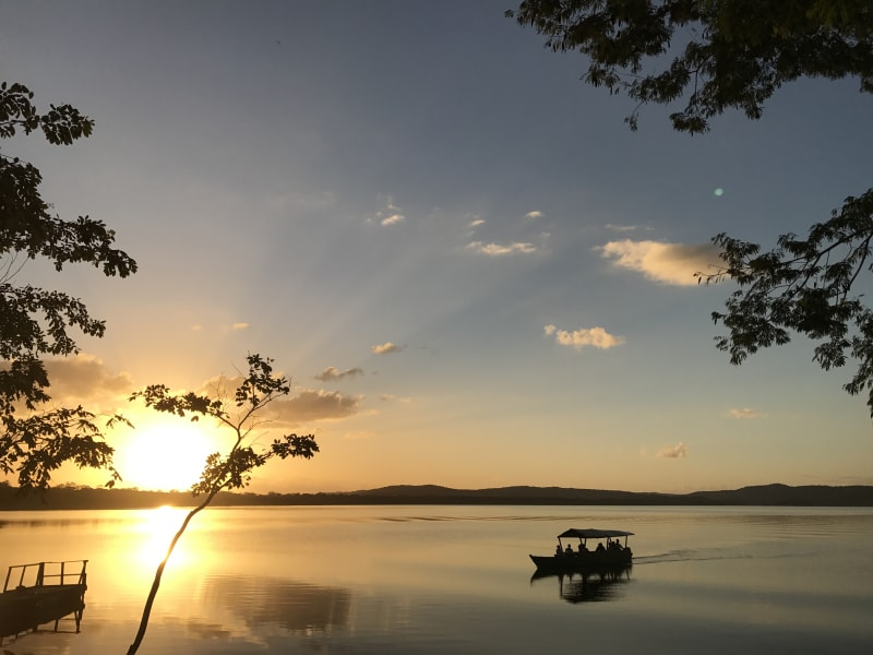Lokal Adventures Immersive Guatemalan Culture and Nature Adventure Antigua to Peten Guatemala Overlooking Laguna Yaxha
