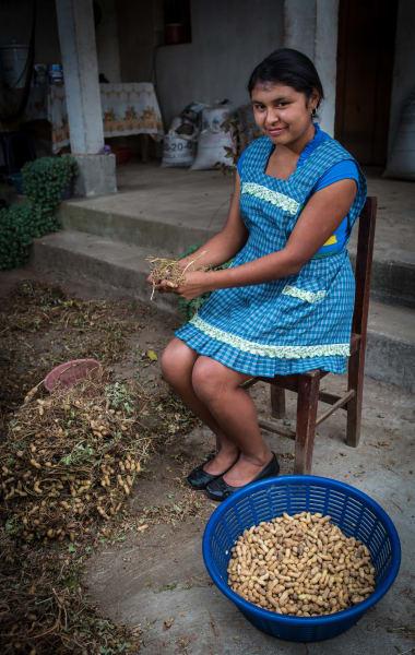 De la Gente Peanut Butter Workshop  San Miguel Escobar Guatemala Lilian