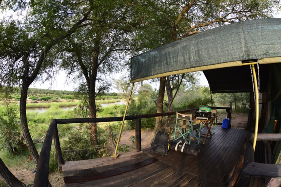 Transfrontier Parks Destinations Best of Limpopo: Traditions, Nature and Safari Adventure Limpopo South Africa Look for wildlife from your porch at Mtomeni Safari Camp