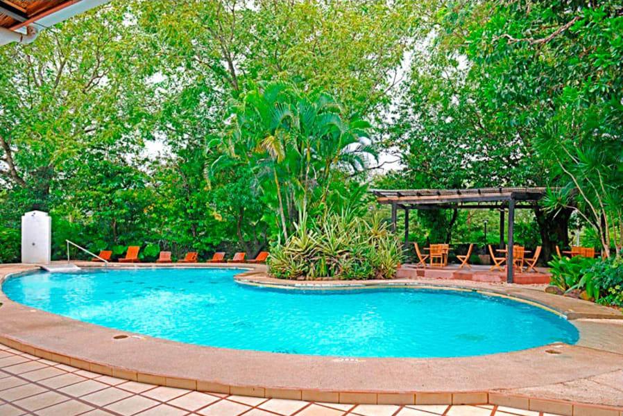 Hacienda Guachipelin Rincon de la Vieja Costa Rica The hotel pool