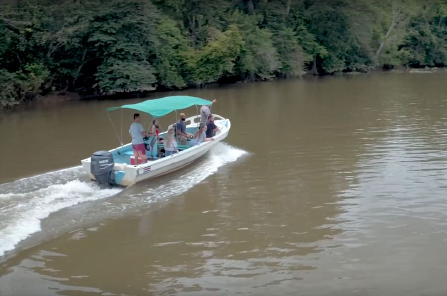 Osa Rural Tours Boat tour of the Sierpe River Mangroves Sierpe Costa Rica undefined