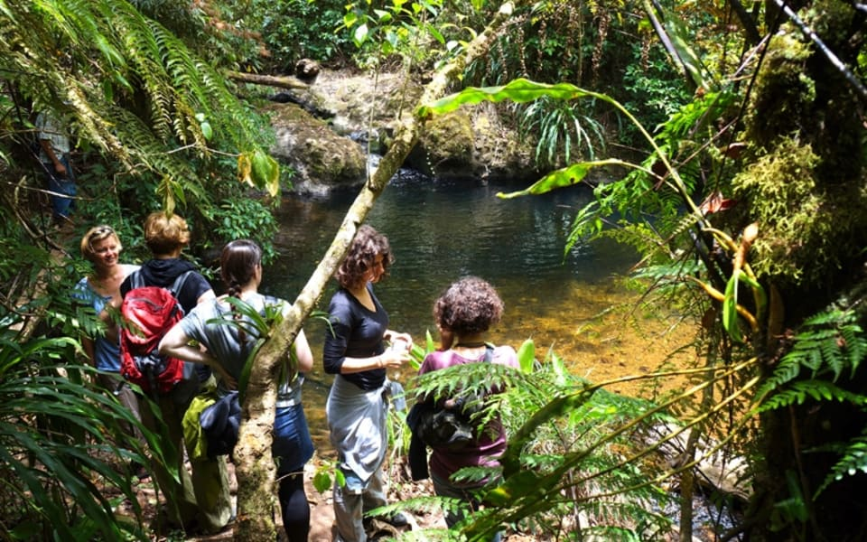 Matagalpa Tours A Paradise in the Mountains of Northern Nicaragua Matagalpa Nicaragua River in Peñas Blancas