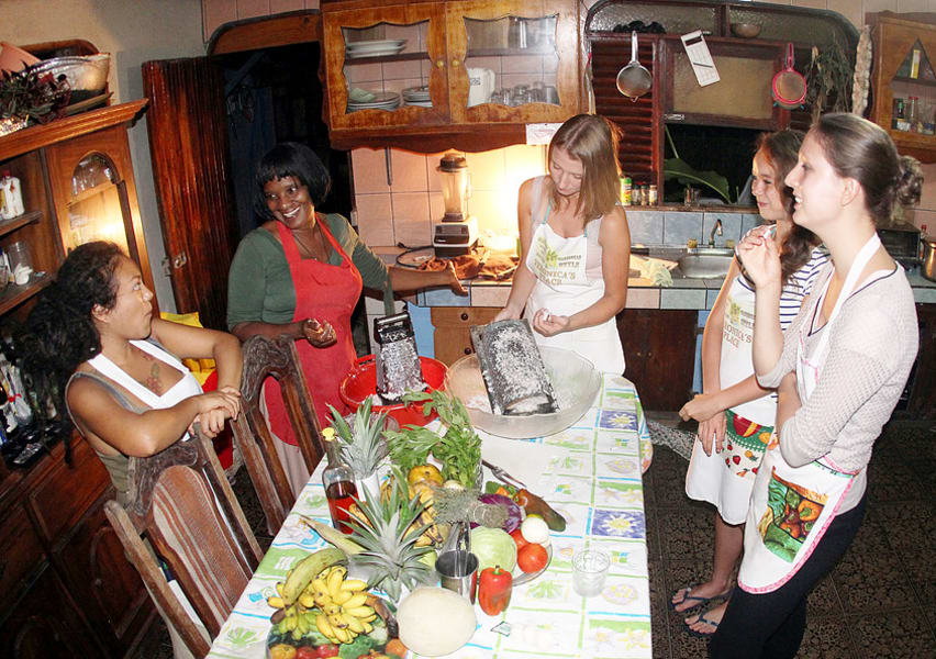 Talamanca Ecotourism and Conservation Association (ATEC) Caribbean Cooking Class in Puerto Viejo Puerto Viejo Costa Rica undefined