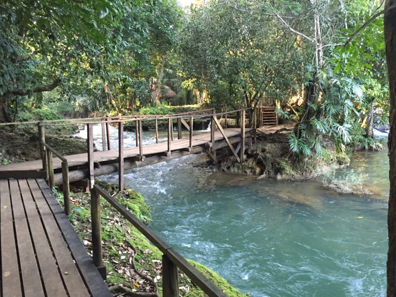 Lokal Adventures Immersive Guatemalan Culture and Nature Adventure Antigua to Peten Guatemala Explore the many paths and waterways of Las Conchas