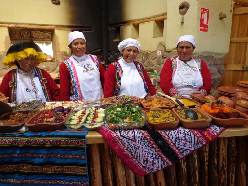 Parque de la Papa Cusco Peru undefined