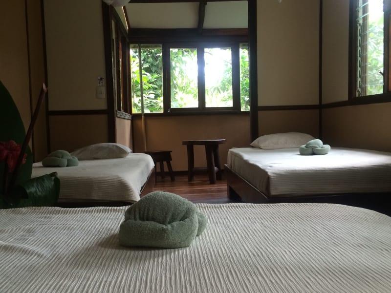 Chilamate Eco-Retreat Eco-Retreat along the Sarapiqui River  Sarapiqui Costa Rica Top Floor Jungle Lodge