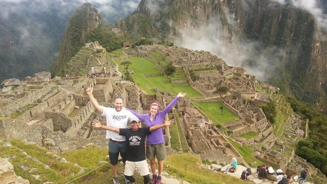 Quechuas Expeditions Hike the Inca Trail to Machu Picchu Cusco Peru null