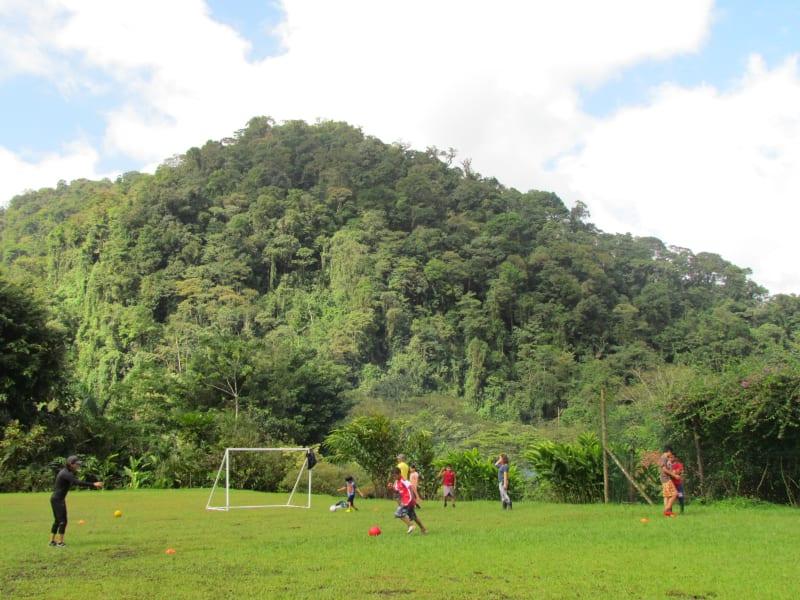 Rancho Margot Bunkhouse Experience at Rancho Margot El Castillo Costa Rica Local Community Soccer