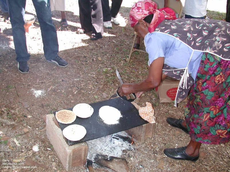 Countrystyle Community Experience Jamaican Taste Experience St. Elizabeth Jamaica Learning to make bammy - Jamaican casava flat breads