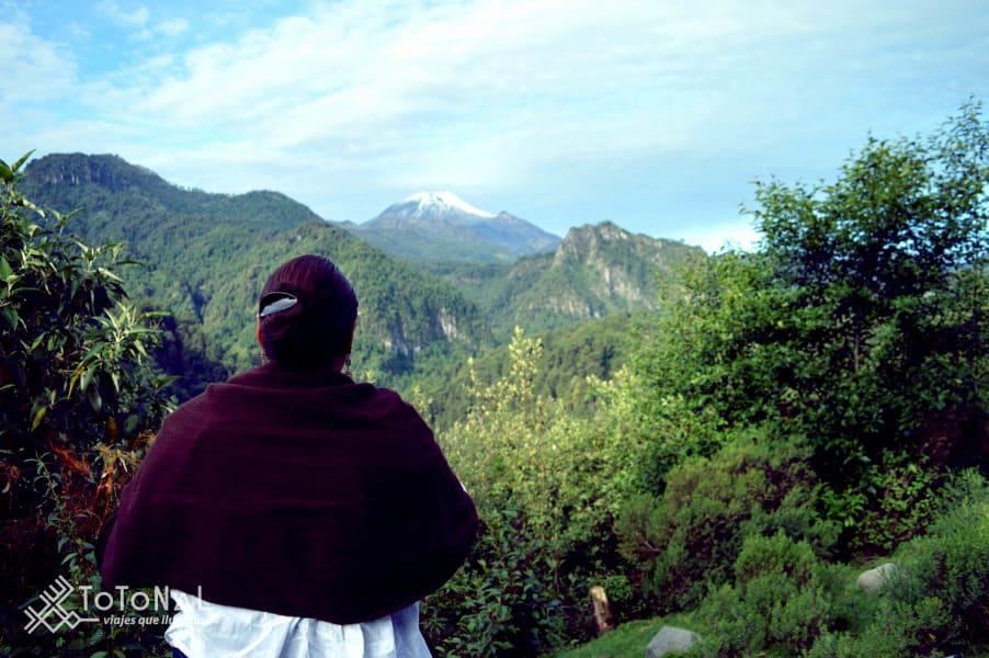 Totonal Viajes Citlaltepetl, the custodian of the Orizaba Valley Coscomatepec, Pico de Orizaba Mexico Orizaba Marisol