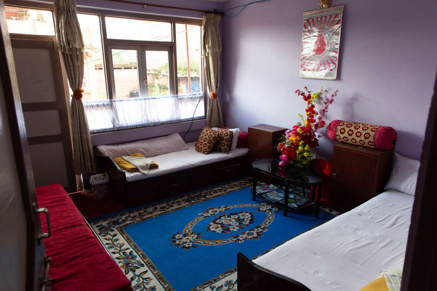 Royal Mountain Travel Experience the Culture of Nepal: An All-Women Adventure with Victoria Hart Kathmandu Nepal Inside one of your local homestays