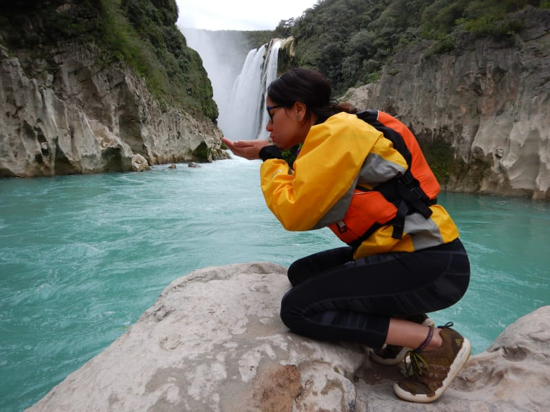 Ruta Huasteca  Tamul Waterfall Expedition Tamasopo Mexico undefined