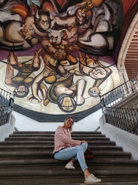Estacion Mexico Mexico City Mural Tour  Mexico City Mexico undefined