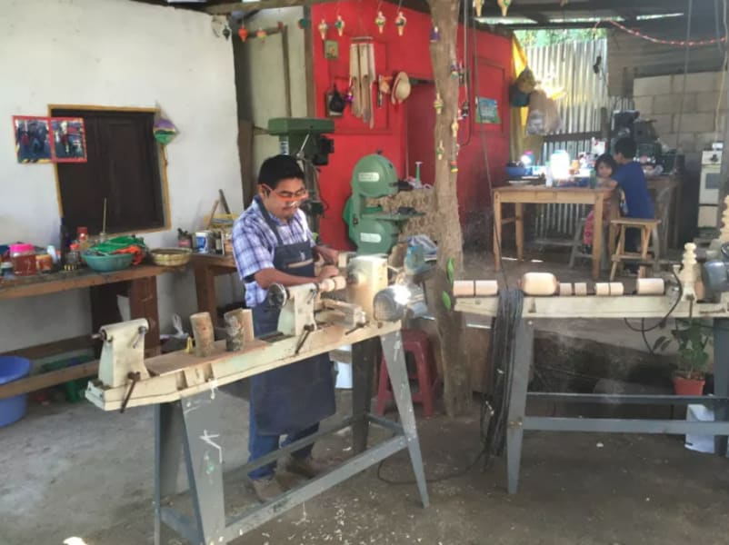 Lokal Adventures Community and Nature of San Cristobal El Alto San Cristobal El Alto Guatemala Visit an artisan workshop