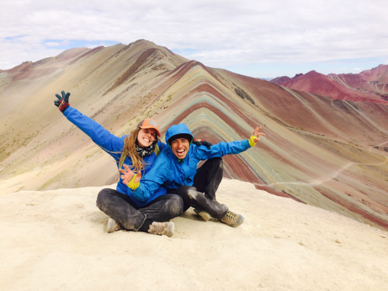 CBC Tupay Hike Rainbow Mountain and Visit the Chari Community Checacupe Peru undefined
