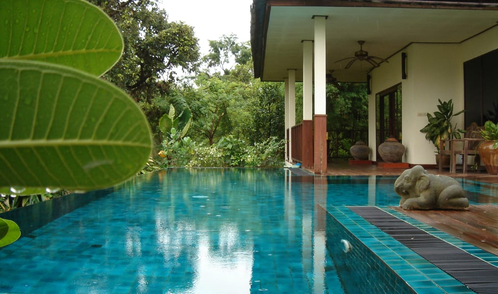 Gecko Villa Private Villa in the Rice Paddies Udon Thani Thailand Private pool at the villa