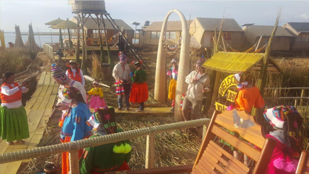Uros Khantati Puno Peru null