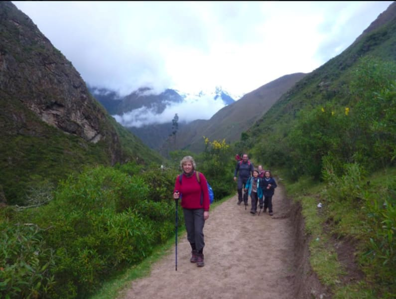 Quechuas Expeditions Cusco Peru On the route