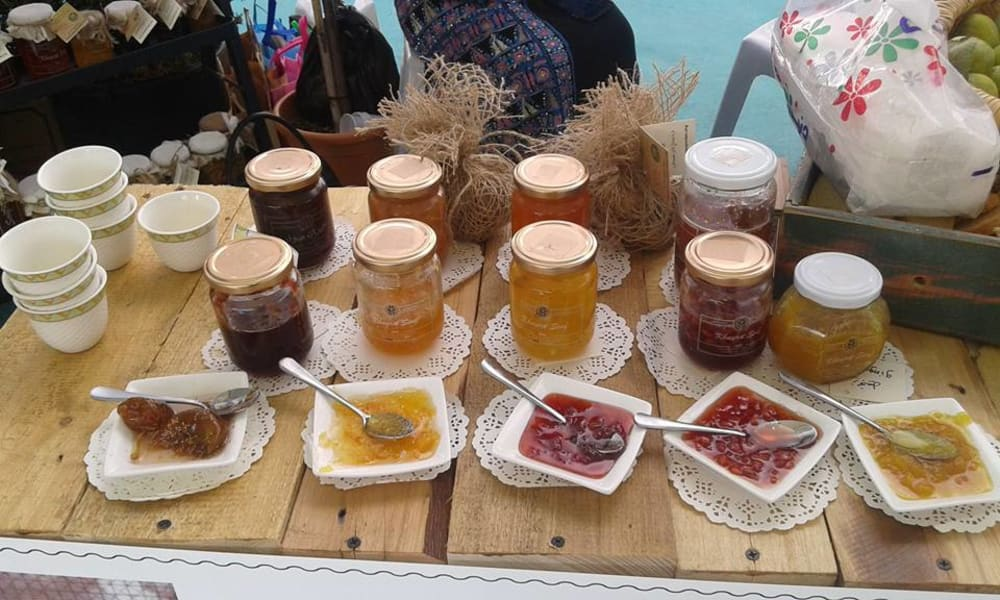 Bait Khayrat Souf Make Artisanal Jam and Traditional Jordanian Lunch Jerash Jordan undefined