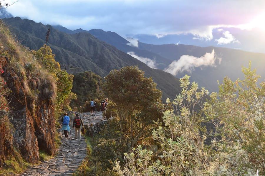 Alpaca Expeditions Classic Inca Trail Trek to Machu Picchu Cusco Peru On the Inca Trail