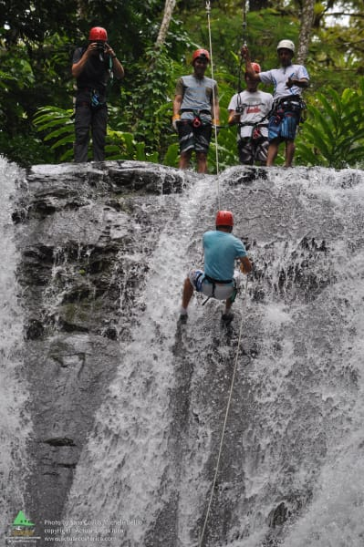 ACTUAR Los Campesinos Rapelling Adventure and Local Life Quebrada Arroyo Costa Rica null