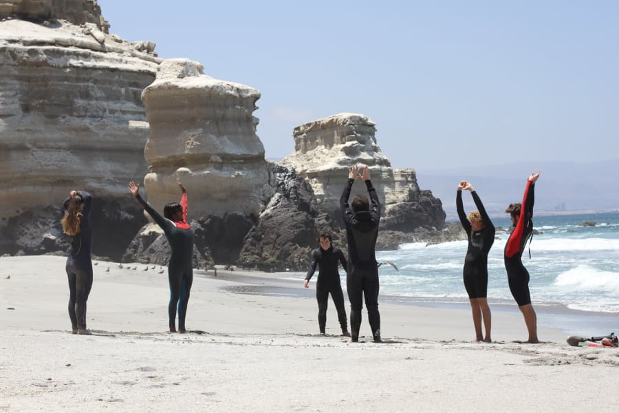 Budeo Tours Bodyboard with Locals on Playa Budeo  Antofagasta Chile null