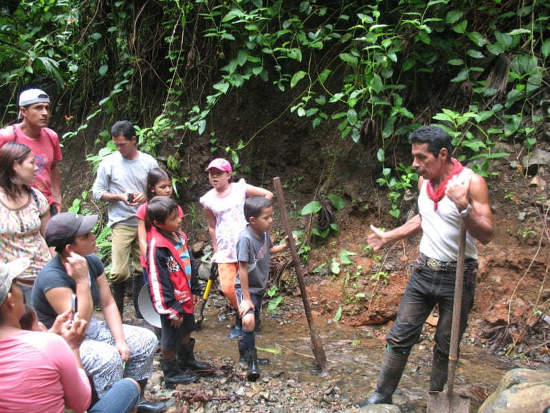 Rancho Quemado Development Association Artisanal Gold Mining Tour Rancho Quemado Costa Rica null