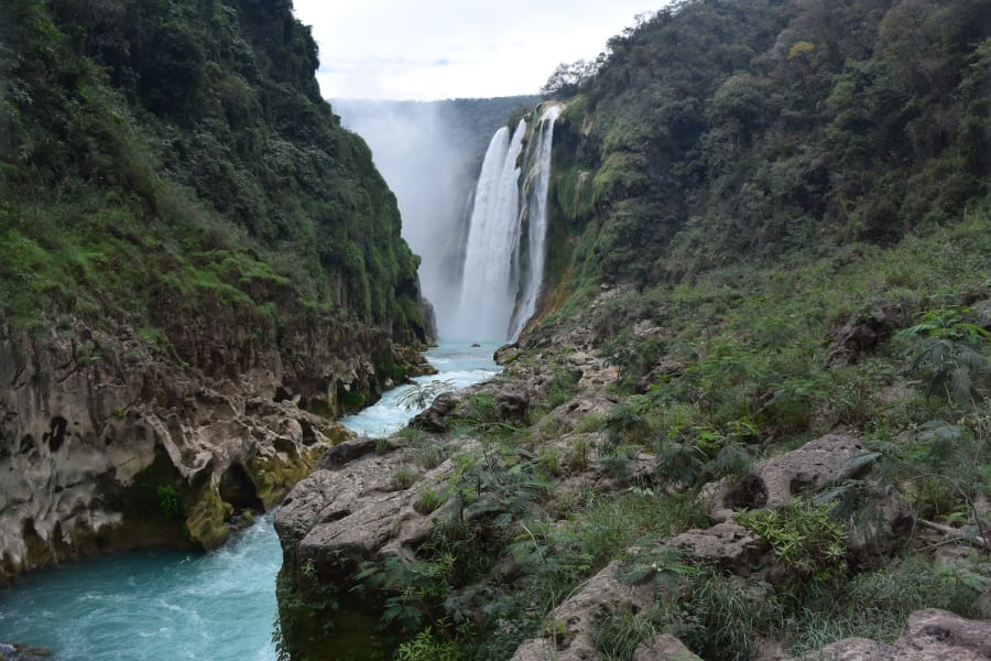 Ruta Huasteca  Tamul Waterfall Expedition Tamasopo Mexico Tamul Waterfall