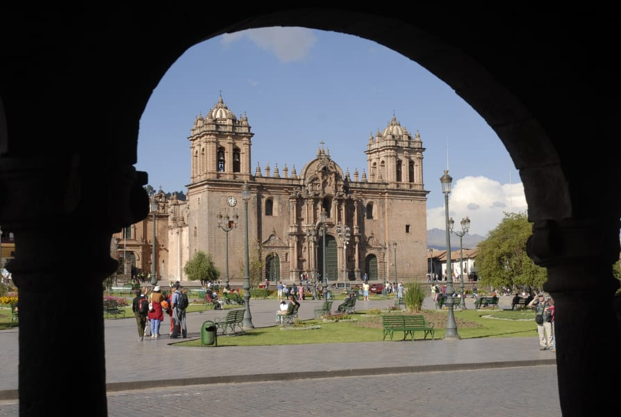 Cocla Tours Cusco, Valle Sagrado and Machu Picchu Tour Cusco Peru Cathedral of Cusco