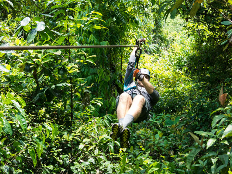 Lokal Adventures Epic Osa Rainforest Adventure Osa Peninsula Costa Rica Ziplining is even more fun when you are guided by the local family who runs the place!