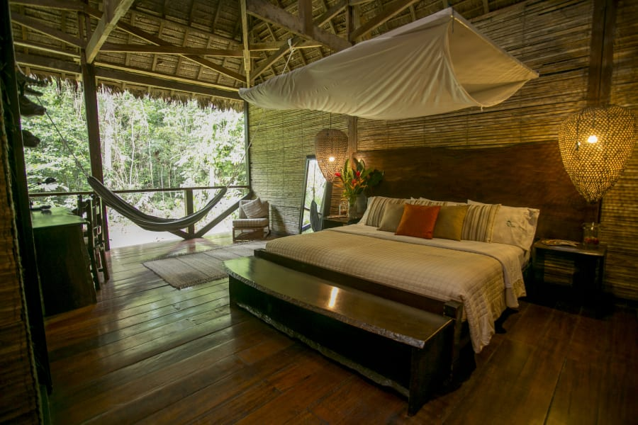 Rainforest Expeditions Refugios Amazonas Ecolodge Puerto Maldonado Peru Amazon Suite