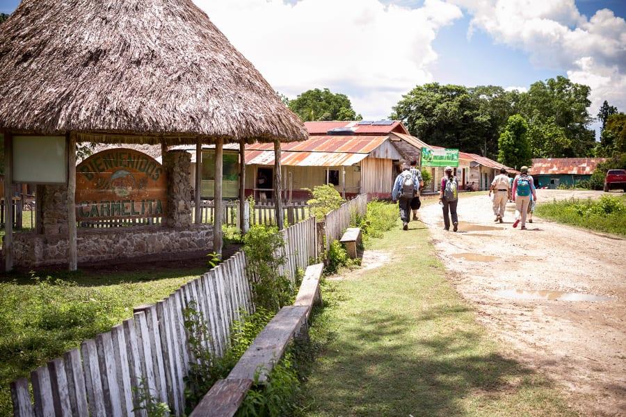 Cooperativa Carmelita 5-Day Mayan Jungle Expedition to El Mirador El Mirador Guatemala Starting off from Carmelita